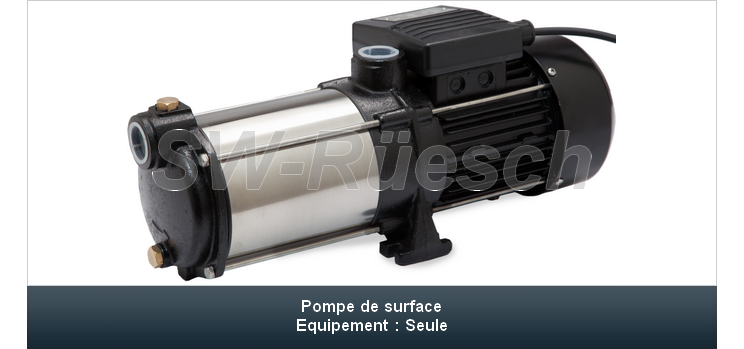 Pompe de surface PS-8000