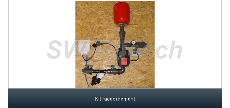 Kit raccordement pour Variateur de vitesse Genius Water Intelligent PW4-230