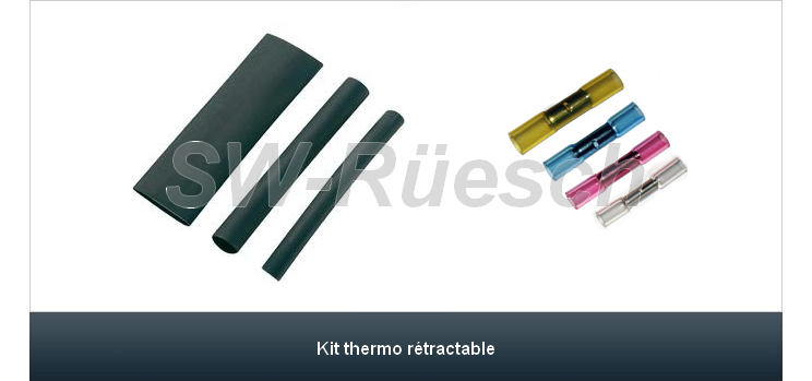 Kit thermo rétractable