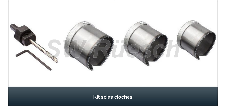 Kit scies cloches