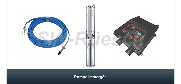 Pompe immergée SP4-8000-MG